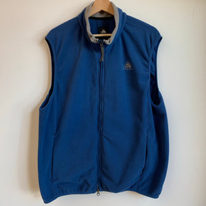 Nike ACG Blue Thermal Fleece Vest