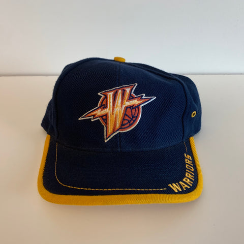 Logo Athletic Golden State Warriors Navy Strapback