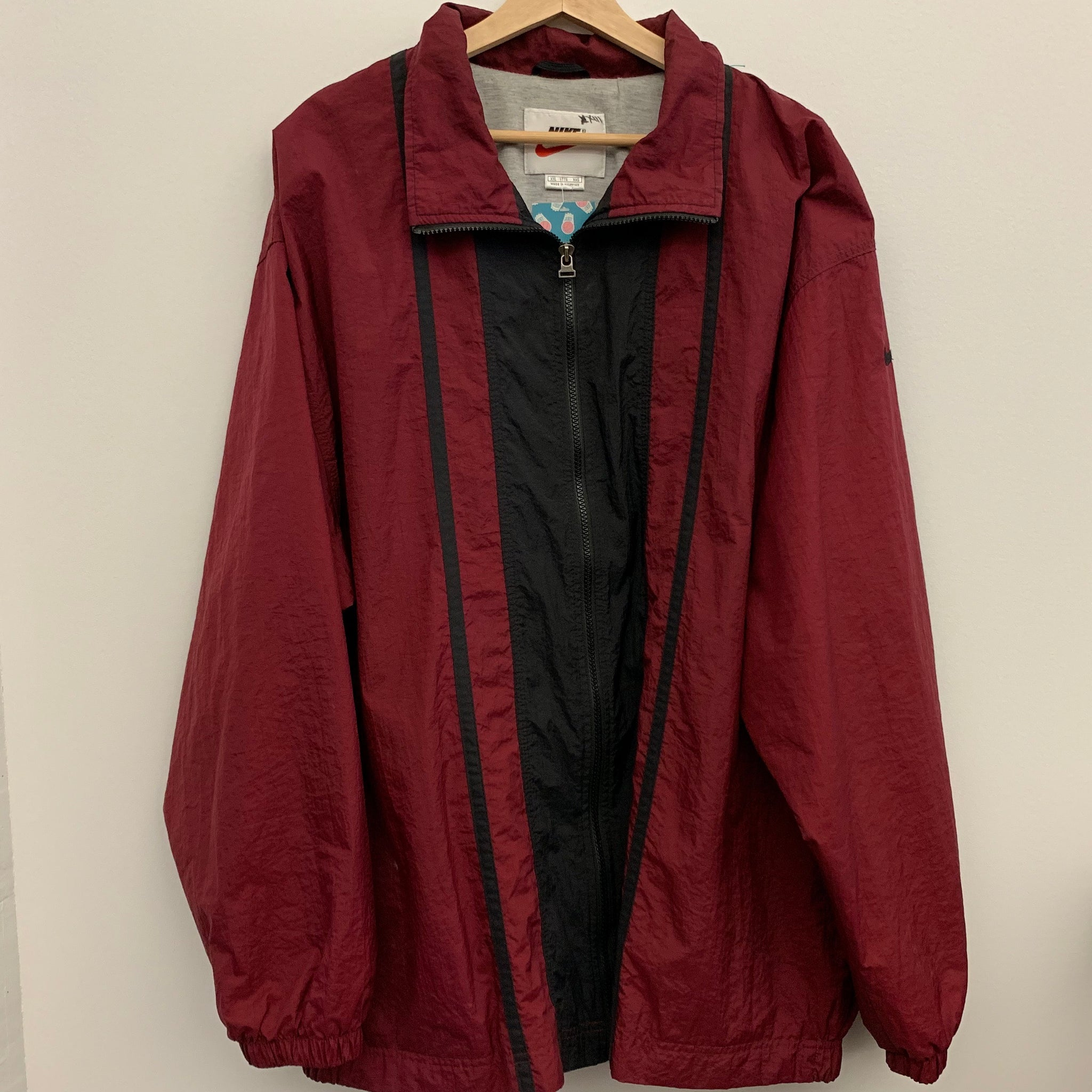 Nike Windbreaker Maroon/Black