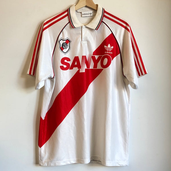 adidas River Plate 1992/94 Home Soccer Jersey