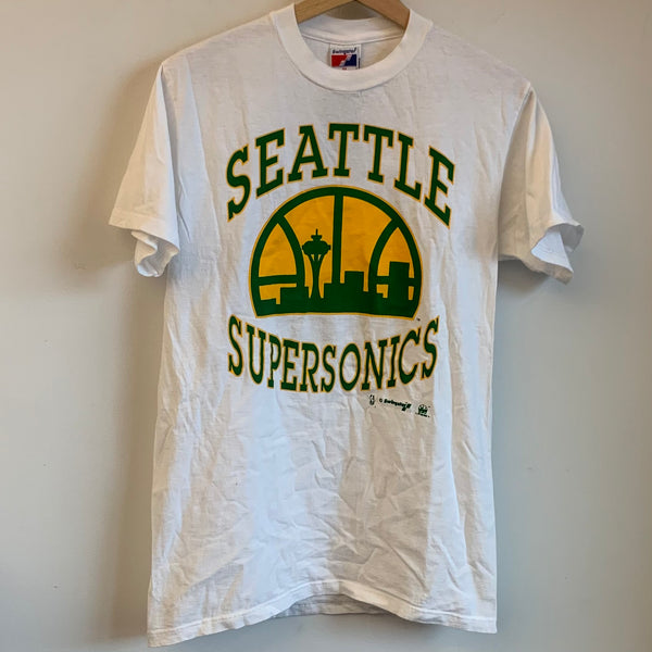 Swingster Seattle SuperSonics White Tee Shirt