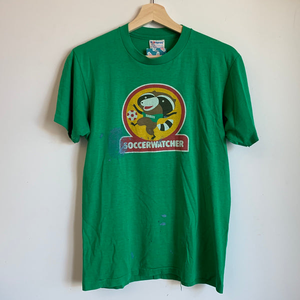 1982 Portland Timbers Soccer Watcher Green Tee Shirt