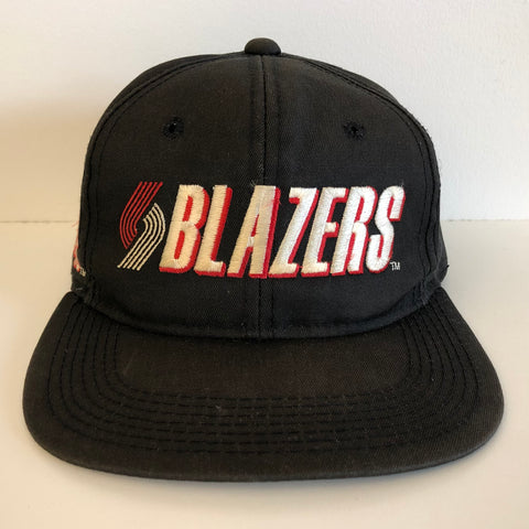 Sports Specialties Portland Trail Blazers Black Snapback