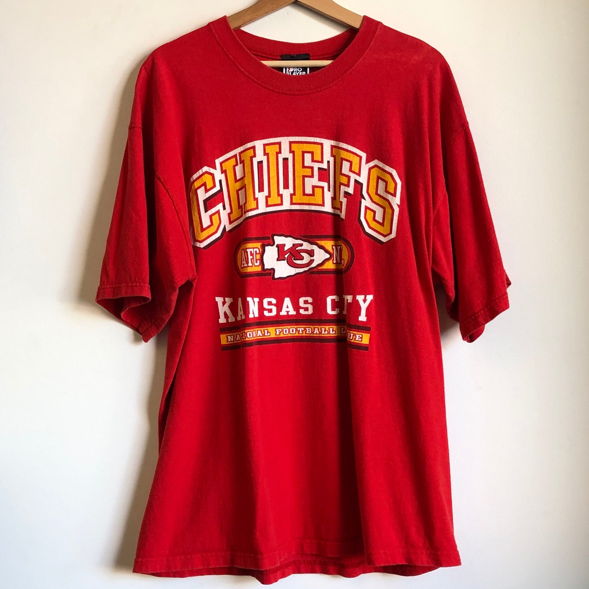 Pro Player Kansas City Chiefs Red Tee Shirt