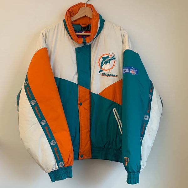 Pro Player Miami Dolphins Parka Jacket