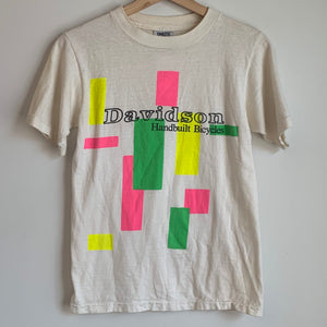 Davidson Handbuilt Bicycles White Tee Shirt