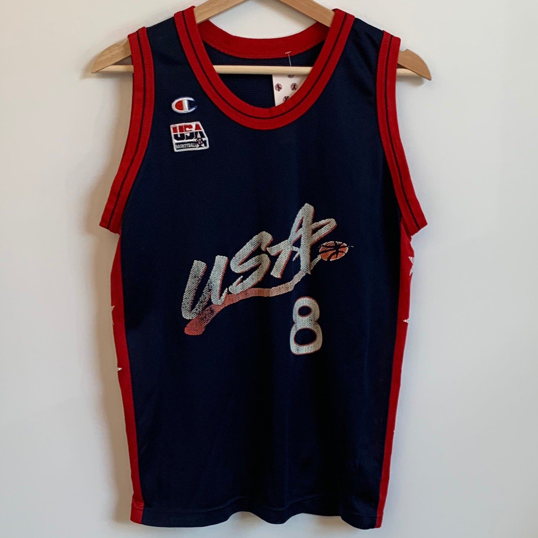 Champion Scottie Pippen Dream Team 2 Youth Navy Basketball Jersey