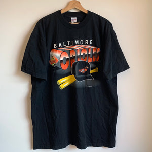 Baltimore Orioles Black Tee Shirt