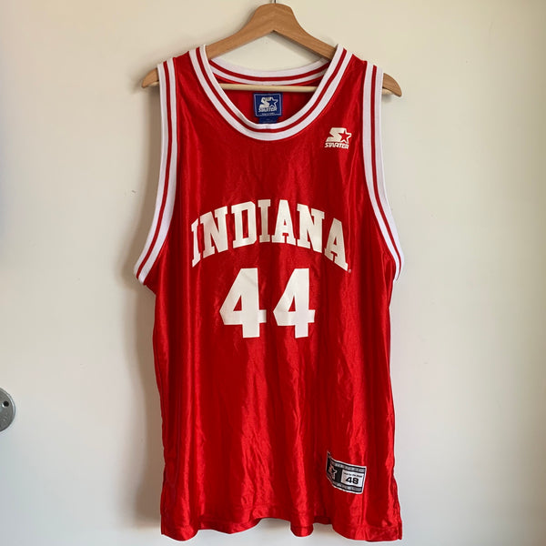 Starter Indiana Hoosiers Red Basketball Jersey
