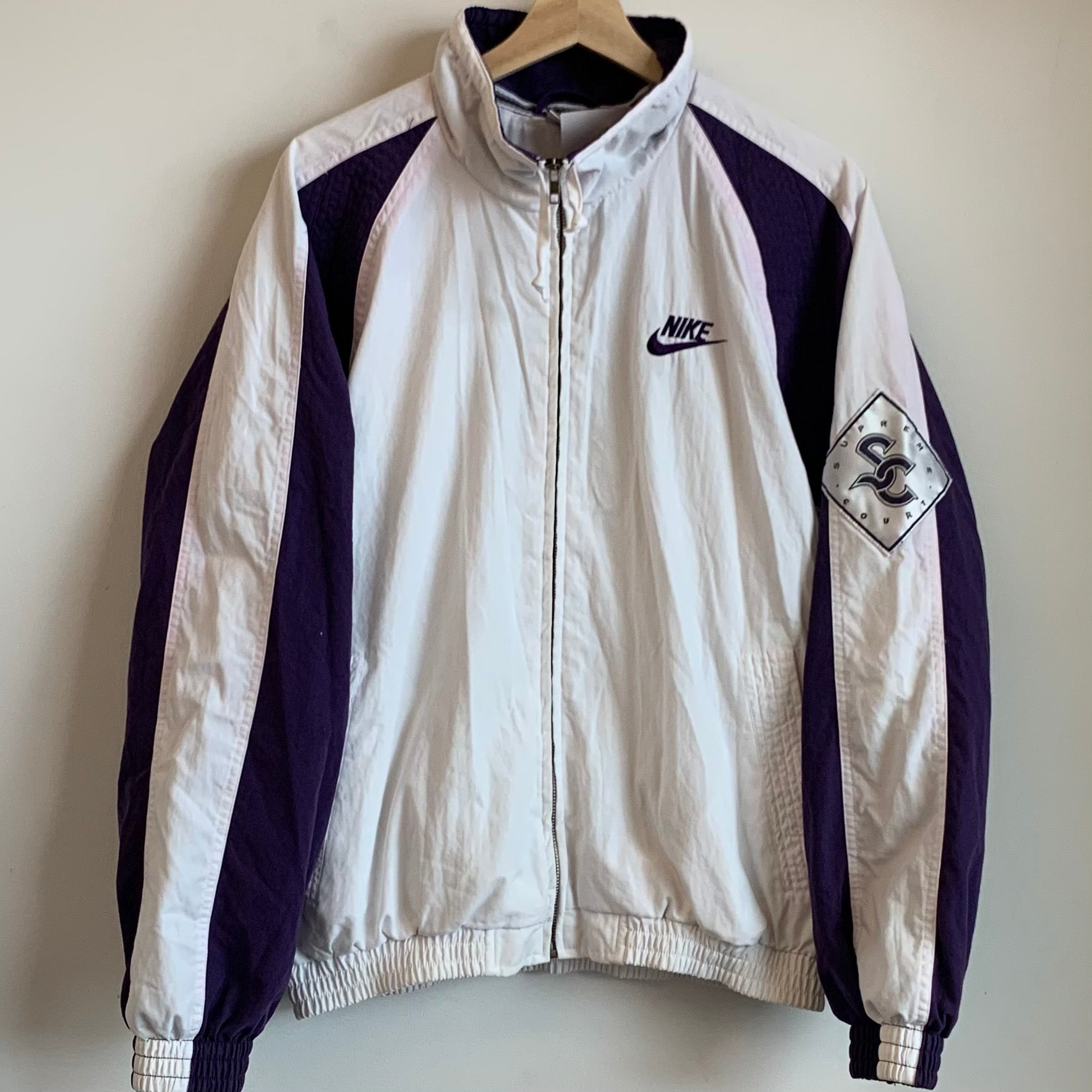 Nike Gray Tag Supreme Court Tennis Jacket