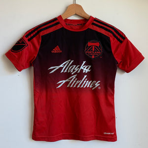 Youth Adidas Portland Timbers Red/Black Soccer Jersey