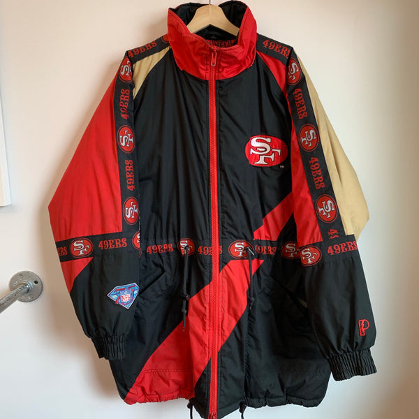 Pro Player San Francisco 49ers Red Parka Jacket