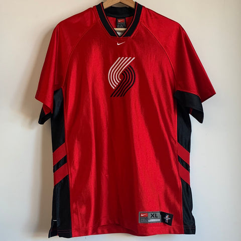 Nike Portland Trail Blazers Youth Warmup Shooting Shirt