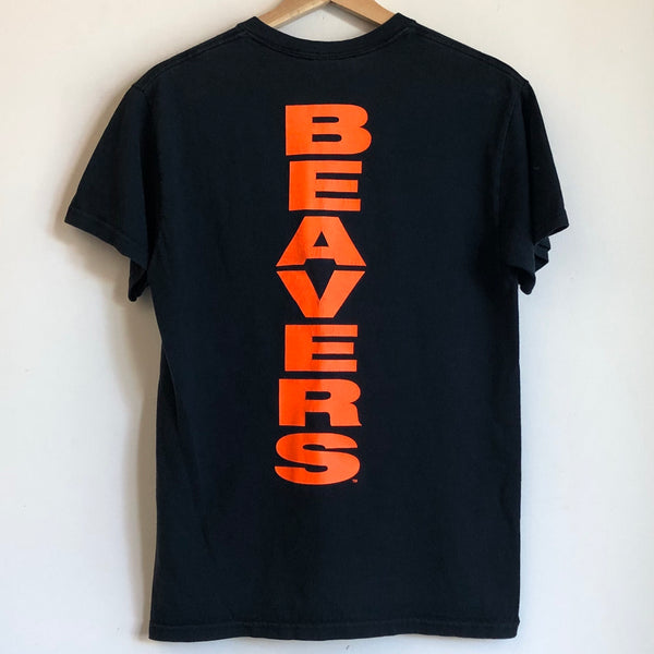 Oregon State OSU Beavers Double-Sided Black Tee Shirt