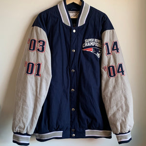 2014 New England Patriots 4-Time Super Bowl Champions Jacket