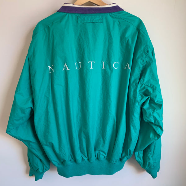 Nautica Teal / Purple Reversible Jacket