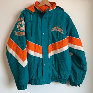 Starter Miami Dolphins Hooded Parka Jacket