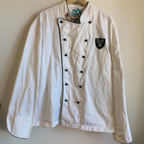 Oakland Raiders Chef Coat