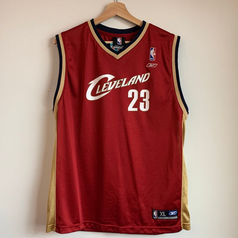 Reebok LeBron James Cleveland Cavaliers Youth Basketball Jersey