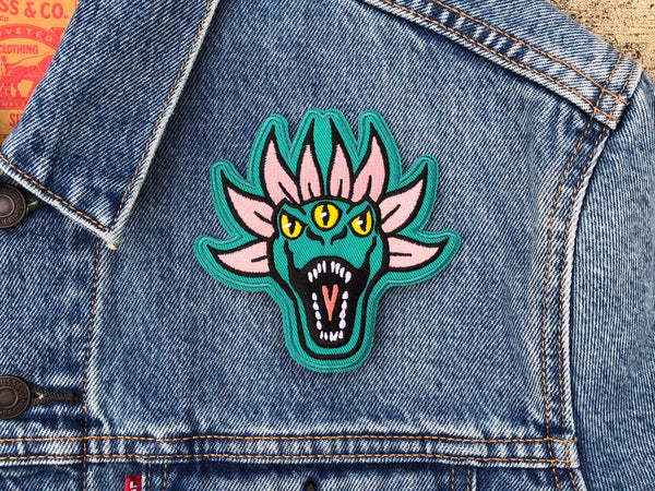 Laundry Mascot Patch