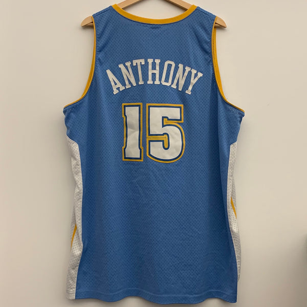 Nike Carmelo Anthony Denver Nuggets Blue Swingman Basketball Jersey