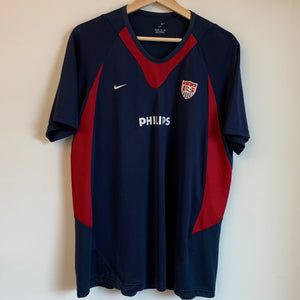 Youth Nike USA Navy/Red Jersey