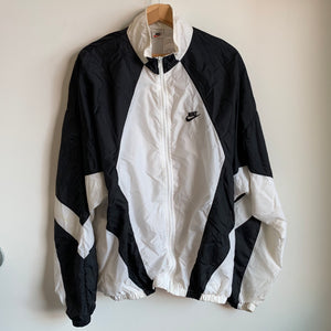 Nike Windbreaker Jacket White/Black