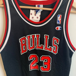 sale retailer d4441 4d3e5 Champion Michael Jordan Chicago Bulls Black Youth Basketball ...