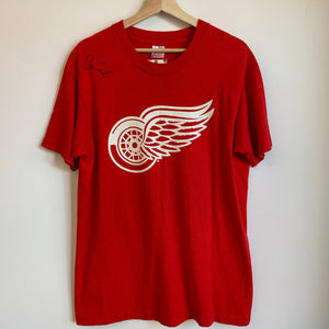 Detroit Red Wings Dino Ciccarelli Red Tee Shirt