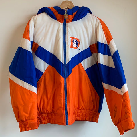 Youth GameDay Denver Broncos Orange/Blue/White Parka