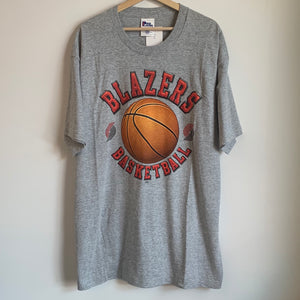 Pro Player Portland Trail Blazers Gray Tee Shirt