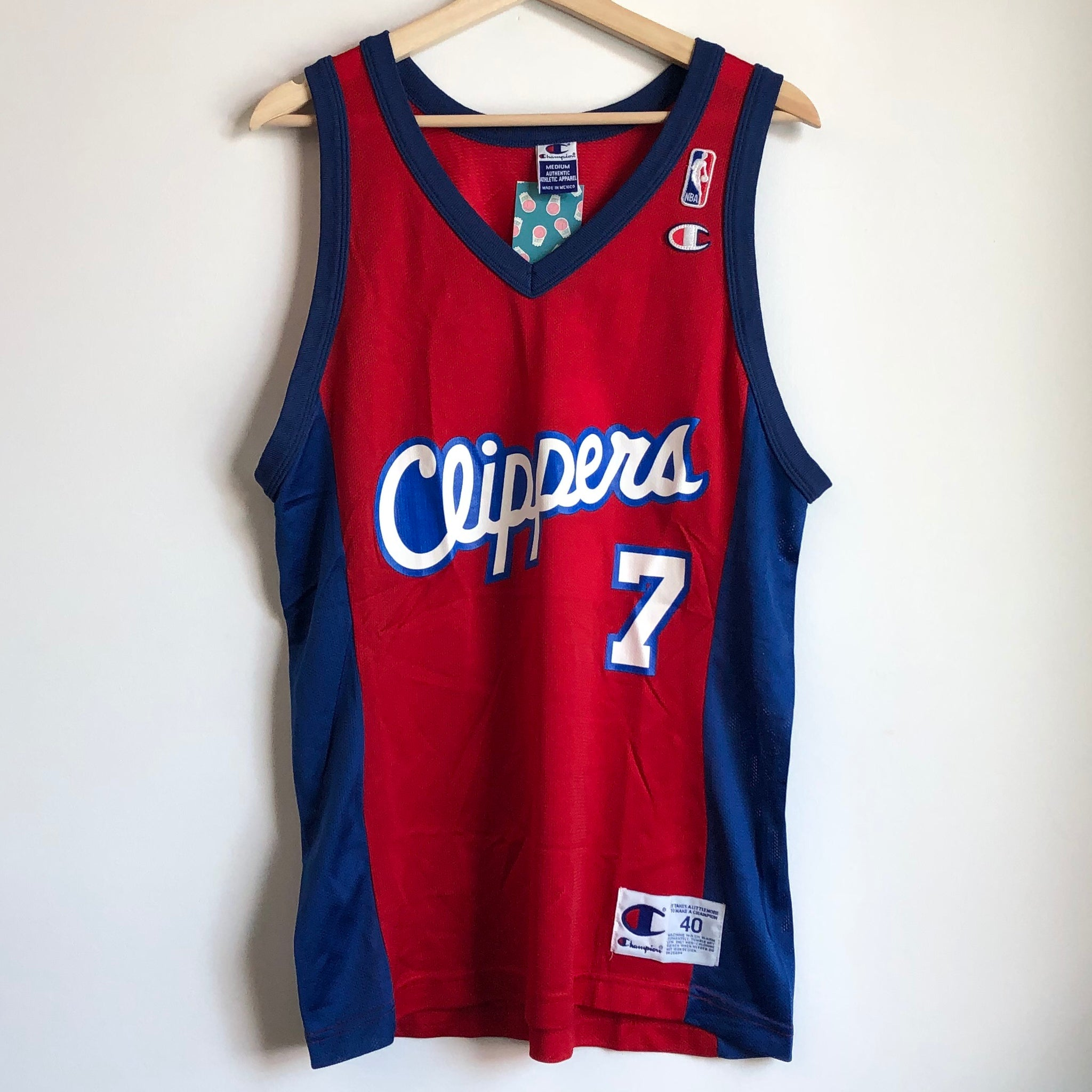 Champion Lamar Odom Los Angeles Clippers Red Basketball Jersey