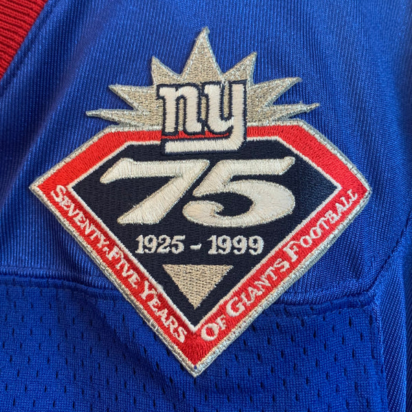 Nike New York Giants 75 Years Football Jersey