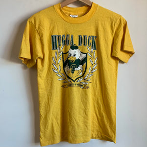 "Oregon Ducks ""Hugga Duck"" Yellow Youth Tee Shirt"