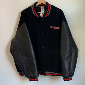 Disney Pixar The Incredibles Black Varsity Jacket