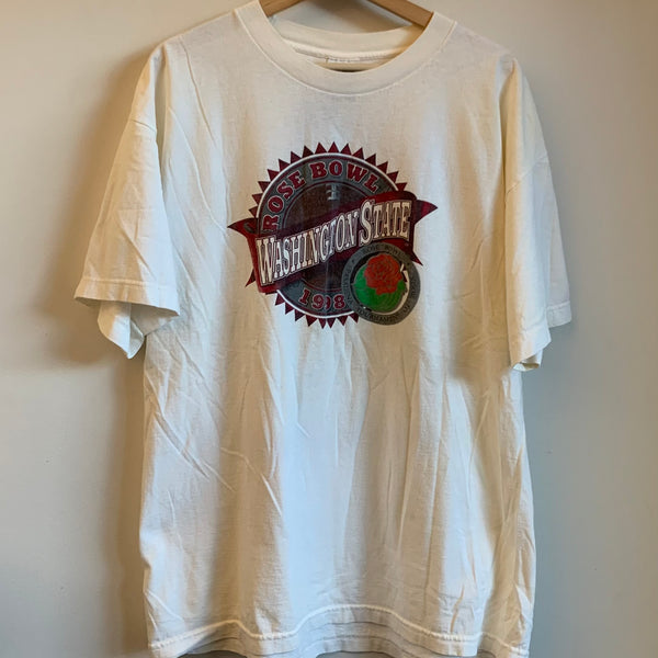 1998 Washington State WSU Cougars Rose Bowl Tee Shirt