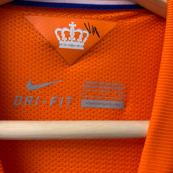 Nike KNVB Royal Dutch Football Orange Jersey