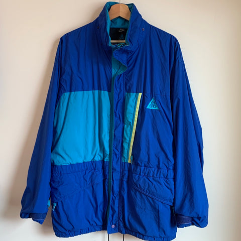 Nike ACG Blue & Teal Windbreaker Jacket