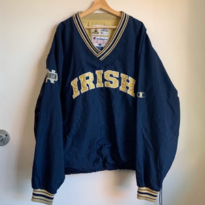 Champion Irish Notre Dame Navy Blue Crewneck