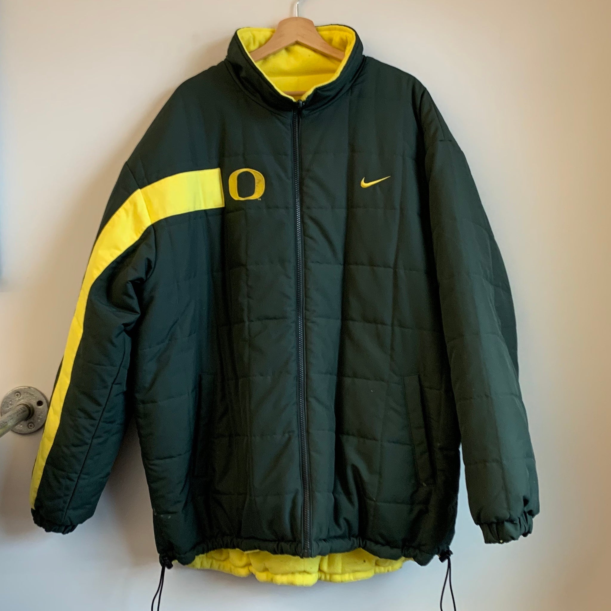 Nike Oregon Ducks Reversible Parka Green/Yellow