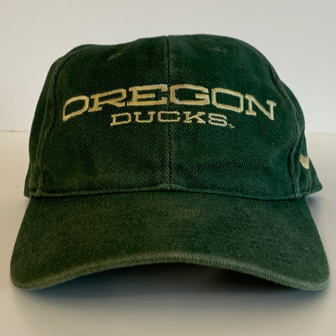 Nike Oregon Ducks U Of O Green SnapBack