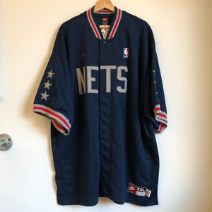 Nike New Jersey Nets 1980 Rewind Warmup Jacket