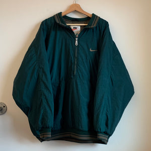 Nike White Tag Big Swoosh Parka Jacket