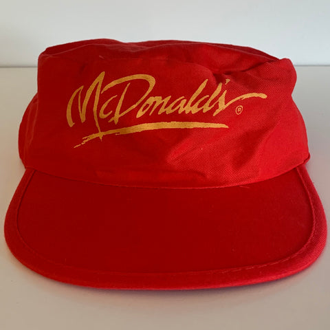 McDonald's Red Painter Cap
