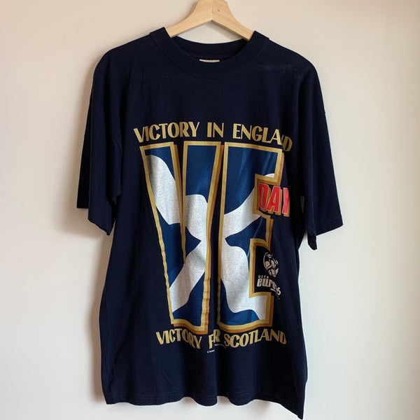 "Nutmeg Mills UEFA Euro '96 ""Victory in England, Victory For Scotland"" Tee Shirt"