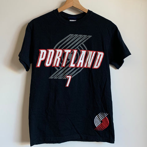 Brandon Roy Portland Trail Blazers Black Tee Shirt