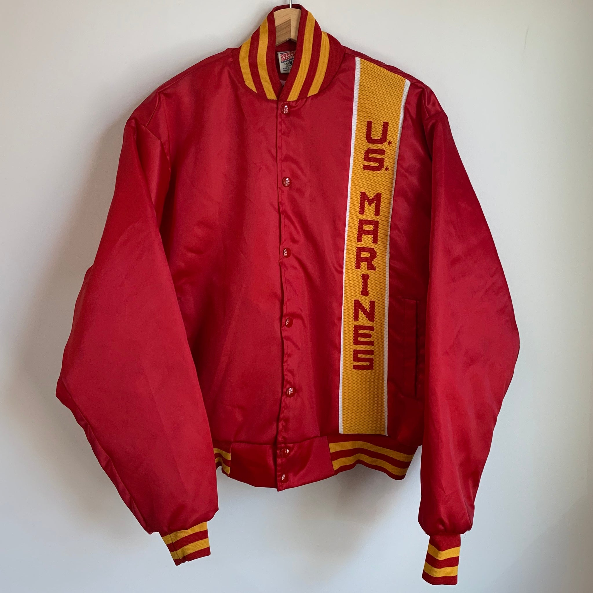 United States Marines Red Satin Jacket