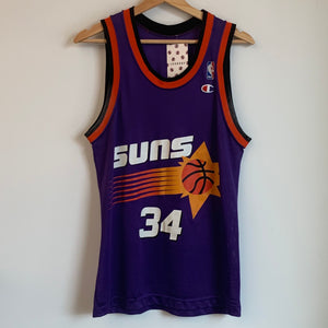 Champion Charles Barkley Phoenix Suns Purple Youth Basketball Jersey