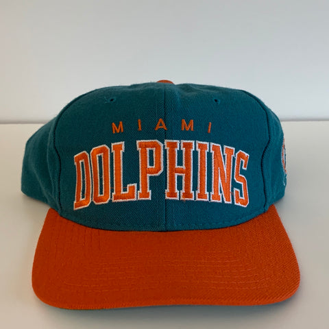 Starter Miami Dolphins Teal & Orange Snapback