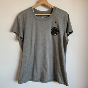 Nike Portland Thorns Team Issued Gray Training Tee Shirt